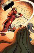 Stark Odinson (Warp World) (Earth-616) vs. Malekith (Warp World) (Earth-616) from Infinity Wars Iron Hammer Vol 1 2 001