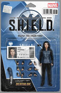 The Cavalry S.H.I.E.L.D. 50th Anniversary Vol 1 1 Action Figure Variant Cover