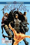 Timely Comics Uncanny Inhumans Vol 1 1