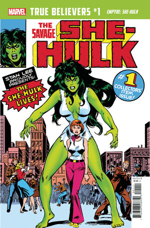 True Believers Empyre - She-Hulk Vol 1 1