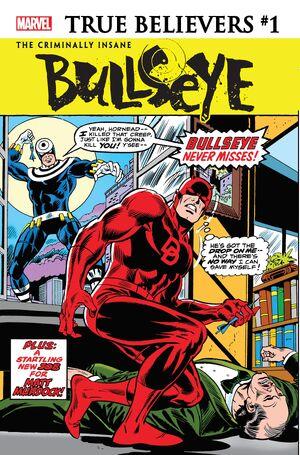 True Believers The Criminally Insane - Bullseye Vol 1 1