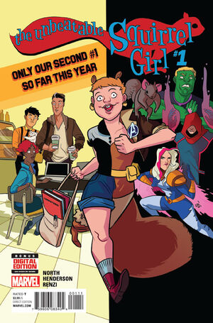 Unbeatable Squirrel Girl Vol 2 1