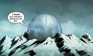Weird Hideout In the Snow-Peaked Everest Region from New Avengers Vol 4 7 001