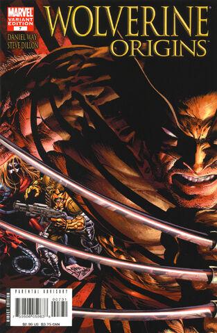 File:Wolverine Origins 7 Variant.jpg