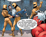 Advanced Idea Mechanics and Anthony Stark (Earth-90211) from What If? Wolverine Father Vol 1 1 0001