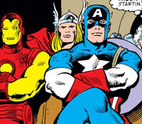Avengers (Earth-30987) from Fantastic Four Vol 1 303 0001