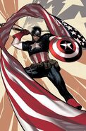 Captain America Vol 9 1 Hughes Virgin Variant