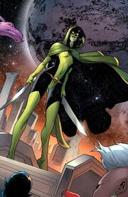 Gamora Zen Whoberi Ben Titan (Earth-7528) from Guardians of the Galaxy Vol 3 24 001