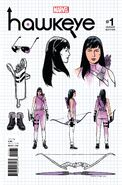 Hawkeye Vol 5 1 Design Variant