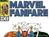 Marvel Fanfare Vol 1 21