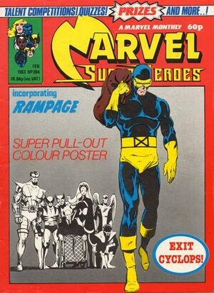 Marvel Super-Heroes (UK) Vol 1 394