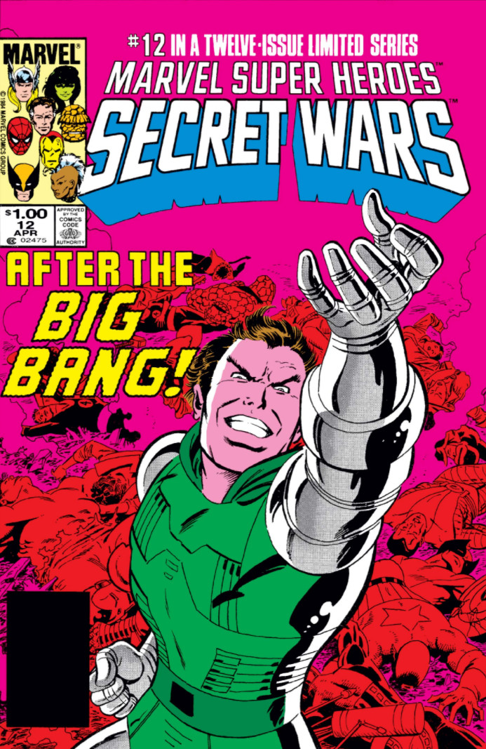 Marvel Super Heroes Secret Wars Vol 1 12 | Marvel Database