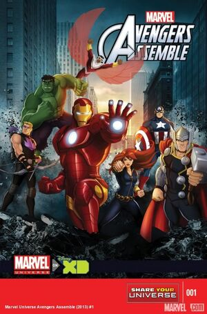 Marvel Universe Avengers Assemble Vol 1 1 Solicit