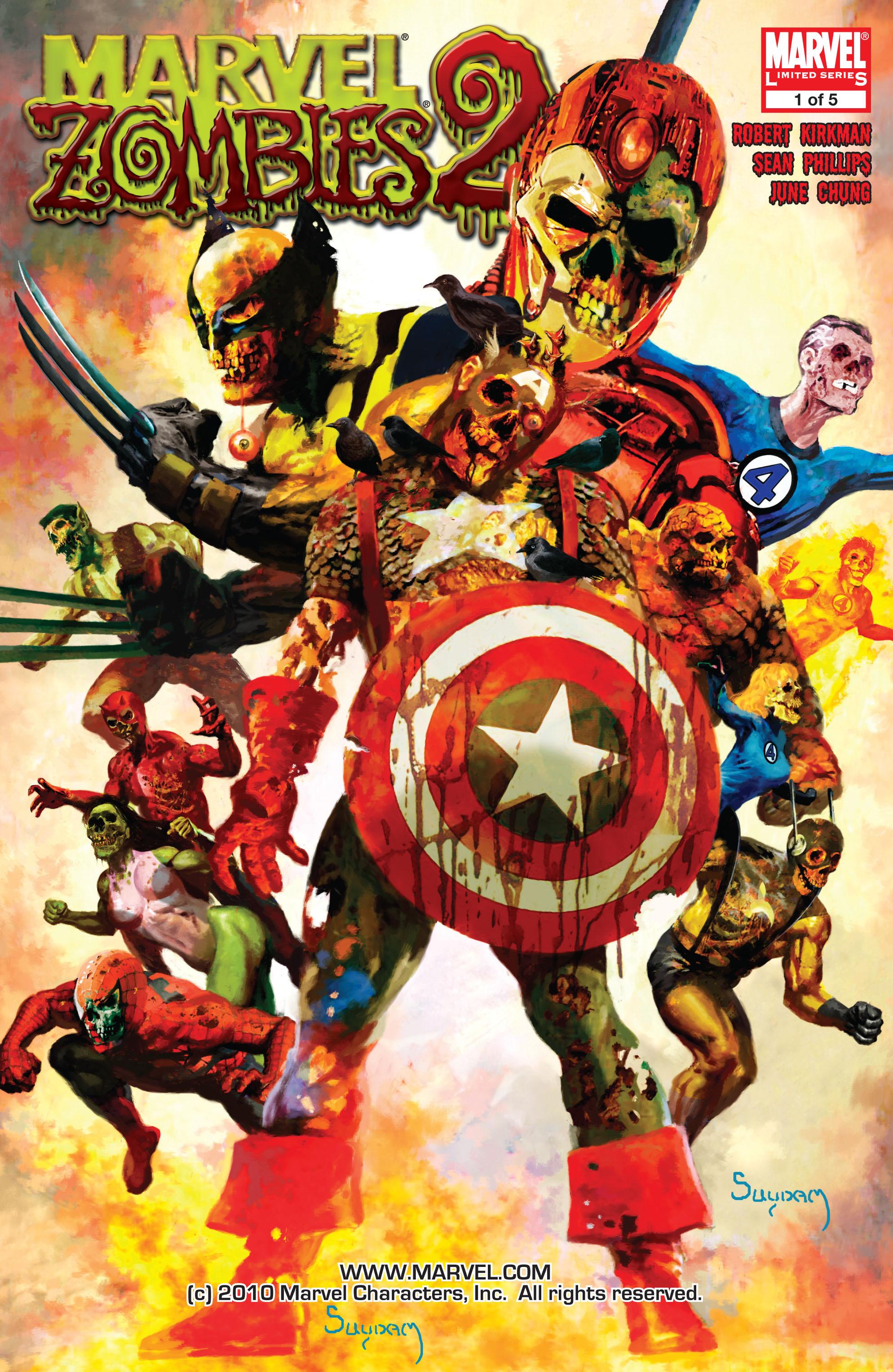 Marvel zombies 2 vol 1 1 marvel database fandom - Marvel spiderman comics pdf ...