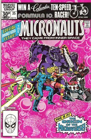 Micronauts Vol 1 35