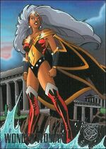 Ororo of Themyscira (Earth-9602) from Amalgam Comics (Trading Cards) 0001
