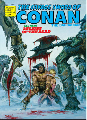 Savage Sword of Conan Vol 1 39
