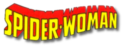Spider-Woman (2014) logo