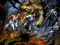 Ultimate Six (Earth-1610) from Ultimate Spider-Man Vol 1 156 0001