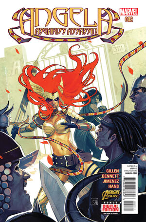Angela Asgard's Assassin Vol 1 2