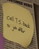 Anthony Stark (Earth-1048) Post-It Note Mention from Marvel's Spider-Man (video game) 001
