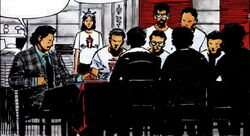 Assassin's Guild (New York) (Earth-616) from Marvel Graphic Novel Vol 1 40 0001