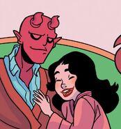 Belial (Demon) (Earth-616) and Hedy Wolfe (Earth-616) from Patsy Walker, A.K.A. Hellcat! Vol 1 16 001