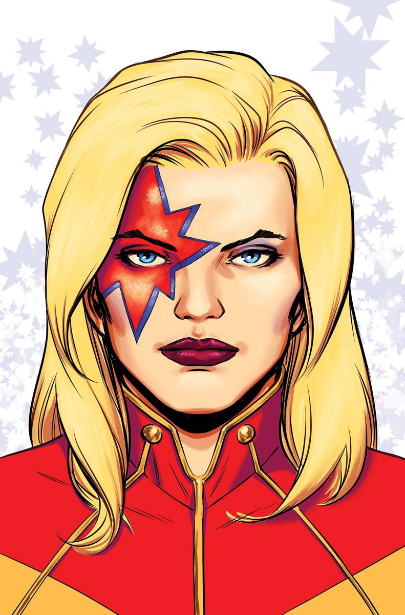 Captain Marvel Carol Hair