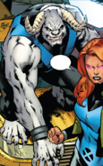 Henry McCoy (Time-Displaced) (Earth-TRN727) from X-Men Blue Vol 1 33 002