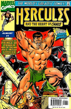 Hercules Heart of Chaos Vol 1 1
