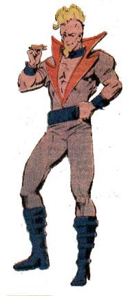 Jerome Myers (Earth-712) from Official Handbook of the Marvel Universe Vol 2 12 001