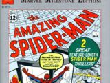 Marvel Milestone Edition: The Amazing Spider-Man Vol 1 1