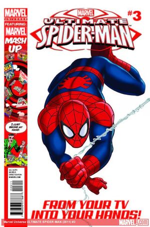 Marvel Universe Ultimate Spider-Man Vol 1 3