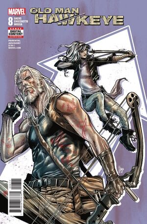 Old Man Hawkeye Vol 1 8