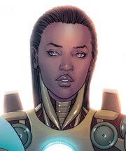 Rhodey Stark (Earth-12665) from Avengers Vol 5 24.NOW 002