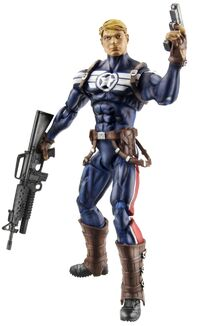 Steven Rogers (Earth-616) from Marvel Universe (Toys) Series 3 Wave XV 0001