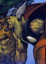 Thor Odinson (Earth-9511) from The Last Avengers Story Vol 1 1 0001