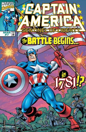 Captain America Sentinel of Liberty Vol 1 7
