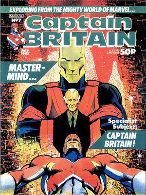 Captain Britain Vol 2 7