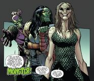 Carlie Cooper (Earth-616), Lily Hollister (Earth-616) and Norman Osborn from Superior Spider-Man Vol 1 25 001
