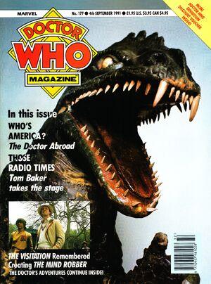 Doctor Who Magazine Vol 1 177