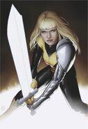 Illyana Rasputina (Earth-616) from New Mutants Dead Souls Vol 1 1 Trading Card Variant cover 001