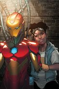 Invincible Iron Man Vol 4 4 Textless