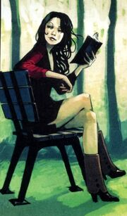 Janet Van Dyne (Earth-616) as a young woman from Avengers Origins Ant-Man & the Wasp Vol 1 1 001
