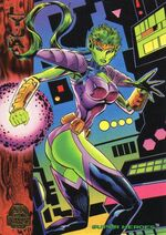 Lyja (Earth-616) from Marvel Universe Trading Cards 1994 001