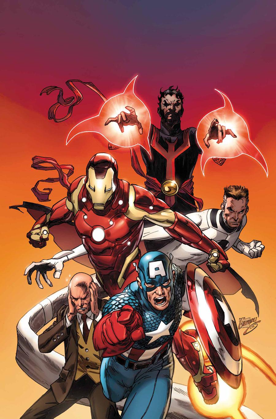 New Avengers Vol 2 29 Textless