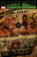 Planet Hulk Gladiator Guidebook Vol 1 1
