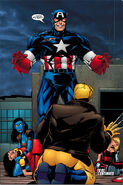 Steven Rogers (Earth-3931) and Exiles (Multiverse) from Exiles Vol 1 31 0001