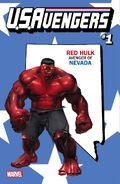 U.S.Avengers Vol 1 1 Nevada Variant