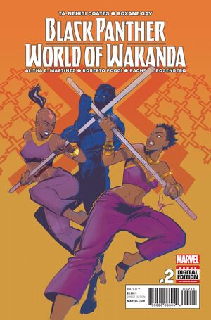 Black Panther World of Wakanda Vol 1 2